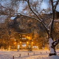 Ahwahnee Hotel in Early Winter