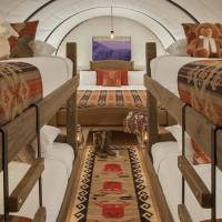 Conestoga Wagons at Capitol Reef Resort
