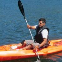 Kyaking on Lake Berryessa