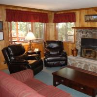 Deer Camp - Living Room with Fireplace