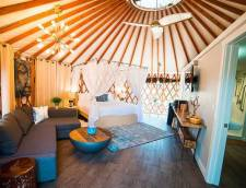 450 Sq Ft Yurt
