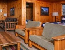 Bluff Cabin - Two Bedroom with Wood Stove