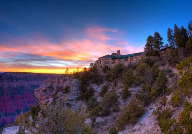 The Grand Canyon Lodge Grand Canyon National Park