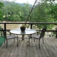 Deck Overlooking Shenandoah River