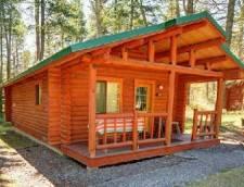 Ponderosa or Larch Cabin