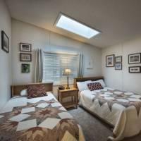 Bedroom 3 with Skylight