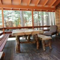 Deer Camp - Deck with Table and Outdoor Seating