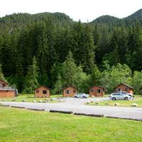 Sol Duc Hot Springs cabins
