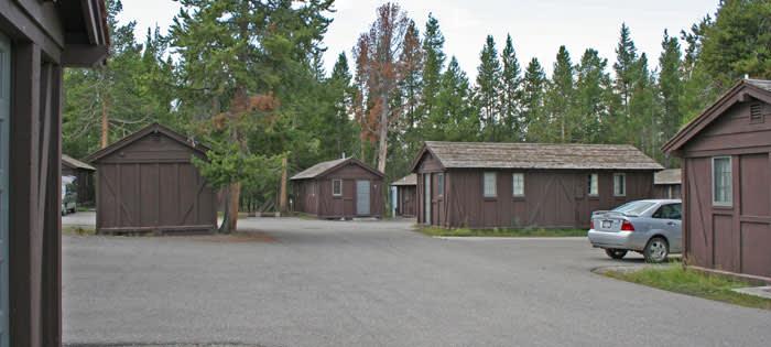 Old Faithful Lodge Cabins Yellowstone National Park