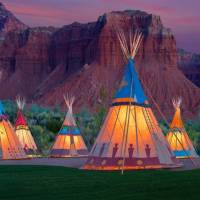 Teepees at Capitol Reef Resort