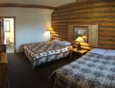 Motel Room 1 Queen 1 Full (Room 110, Room 111)