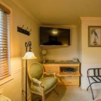 One King MicroFridge Unit Bedroom