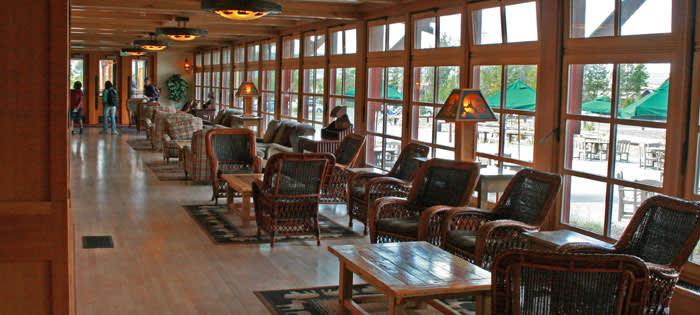 Old Faithful Snow Lodge Yellowstone National Park