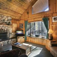 Wawona Cabin - Living Room