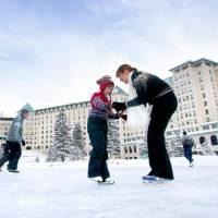 Fairmont Chateau Lake Louise Ice Skating