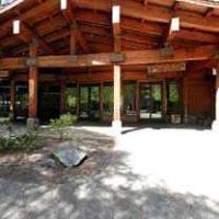 Main entrance Yosemite Valley Lodge