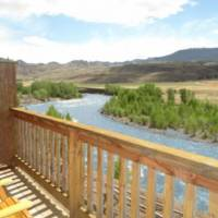 Yellowstone Valley Inn Deck View