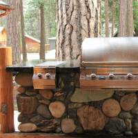Grizzly Giant - Large Covered Deck with Built-in Grill