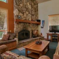 Mariposa Heights - Living Room with Fireplace