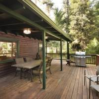 Large Deck with Furniture and Grill