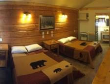Motel Room 2 Full Size Beds (Room 102, Room 103)