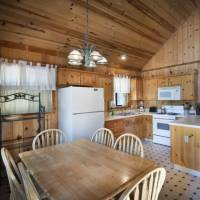 Wawona Cabin - Dining Area and Kitchen