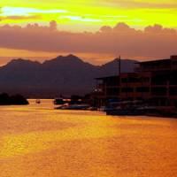 Sunset over Lake Havasu