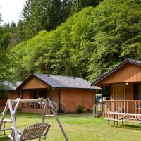 Cabins at Sol Duc Hot Springs