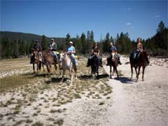 Yellowstone horseback adventures