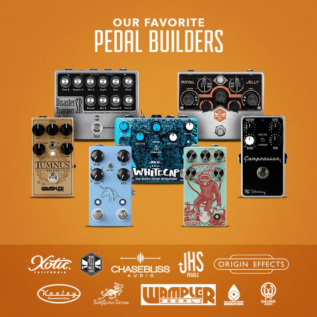 Rock Stock Our Favorite Pedal Builders