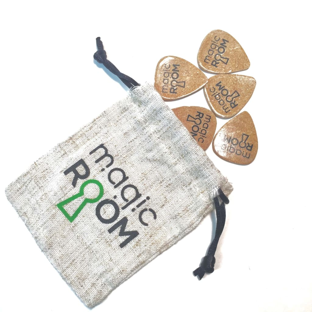 Rock Stock's Holiday Gift Guide Magic Room Brand Eco Friendly Guitar Picks