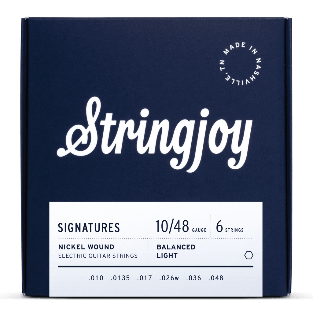 Rock Stock's Holiday Gift Guide Stringjoy Balanced Light Electric Guitar Strings