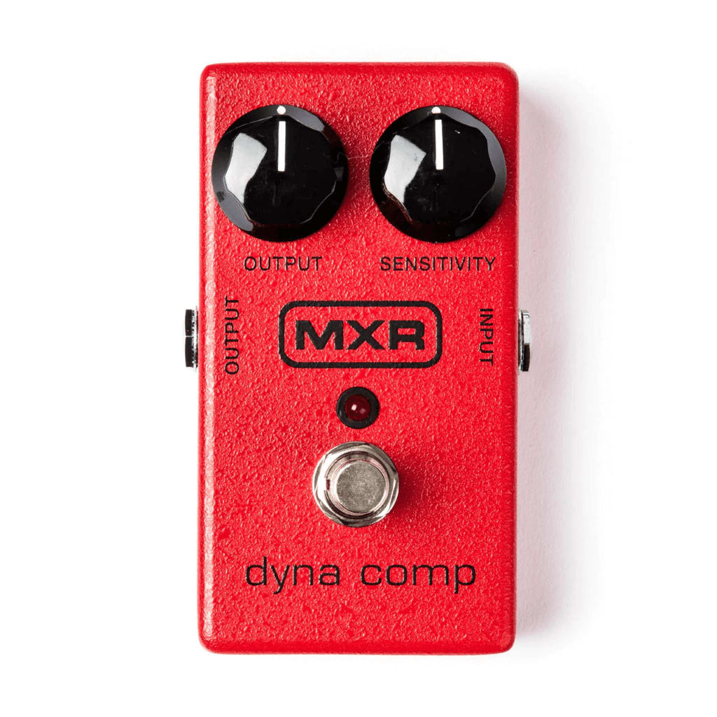 Rock Stock Pedals The Ultimate Guide To Guitar Compressor Pedals MXR Dyna Comp