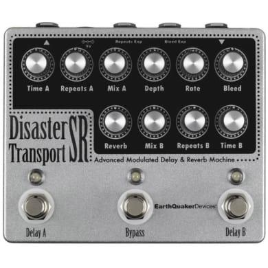 Eartquaker devices disaster transport sr guitar pedal Rock Stock favorite pedal builders