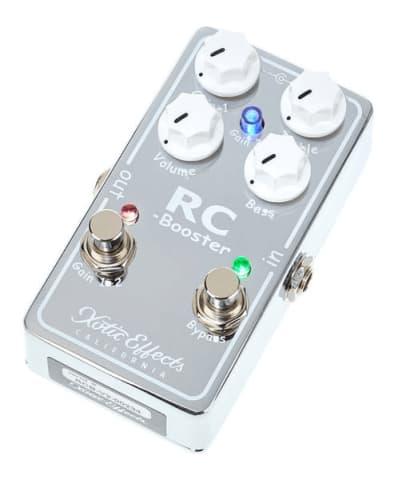 Xotic RC booster guitar pedal Rock Stock favorite pedal builders