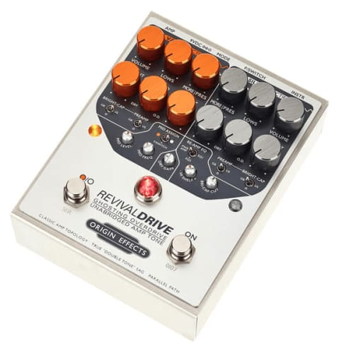 Origin Effects Revival Drive guitar pedal Rock Stock favorite pedal builders