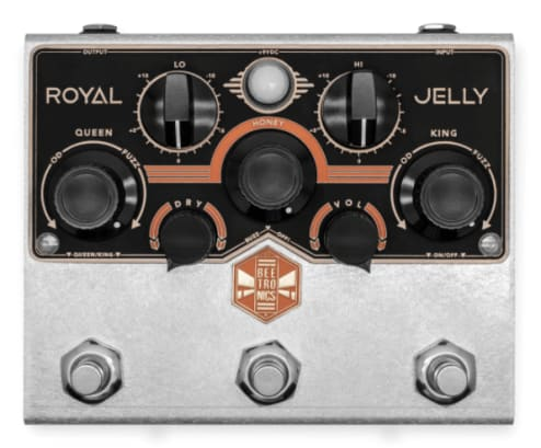 Beetronics Royal Jelly guitar pedal Rock Stock favorite pedal builders