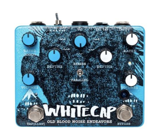 Whitecap old blood noise endeavors guitar pedal Rock Stock favorite pedal builders
