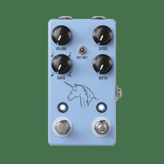 JHS unicorn vibe guitar pedal Rock Stock favorite pedal builders