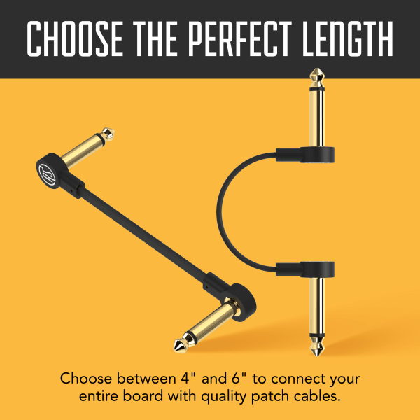Flat patch cables infographics