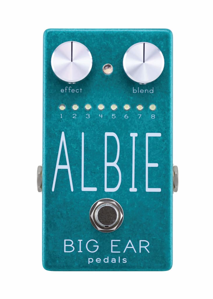 Rock Stock's Holiday Gift Guide Big EAR Pedals ALBIE