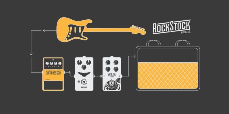 compressor pedals ideal guitar pedal order, guitar compressor overdrive reverb amp Rock Stock Pedals The Ultimate Guide To Guitar Compressor Pedals