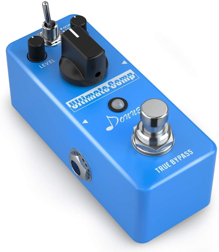 How To Build A Complete Pedalboard budget pedalboard Donner Compressor