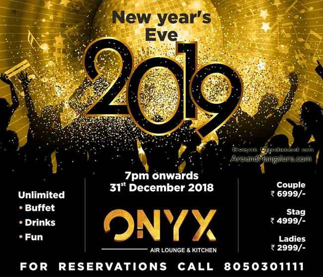 Onyx 2019 New year Bash