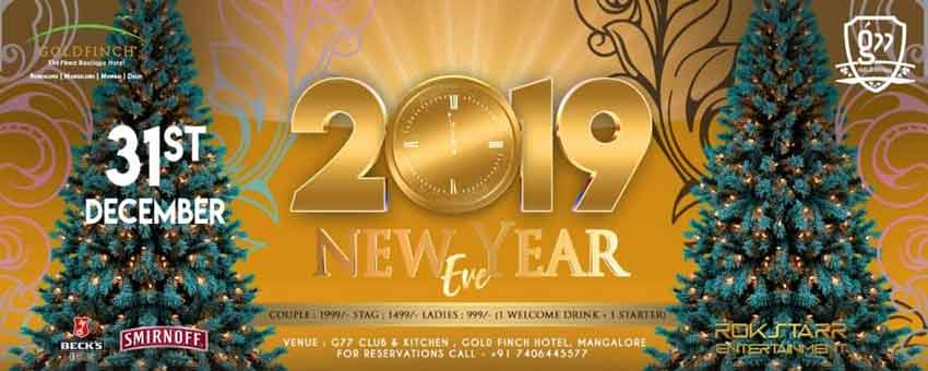 2019-New-Year-Eve-31-Dec-2019-G77-Club-Kitchen-Mangalore