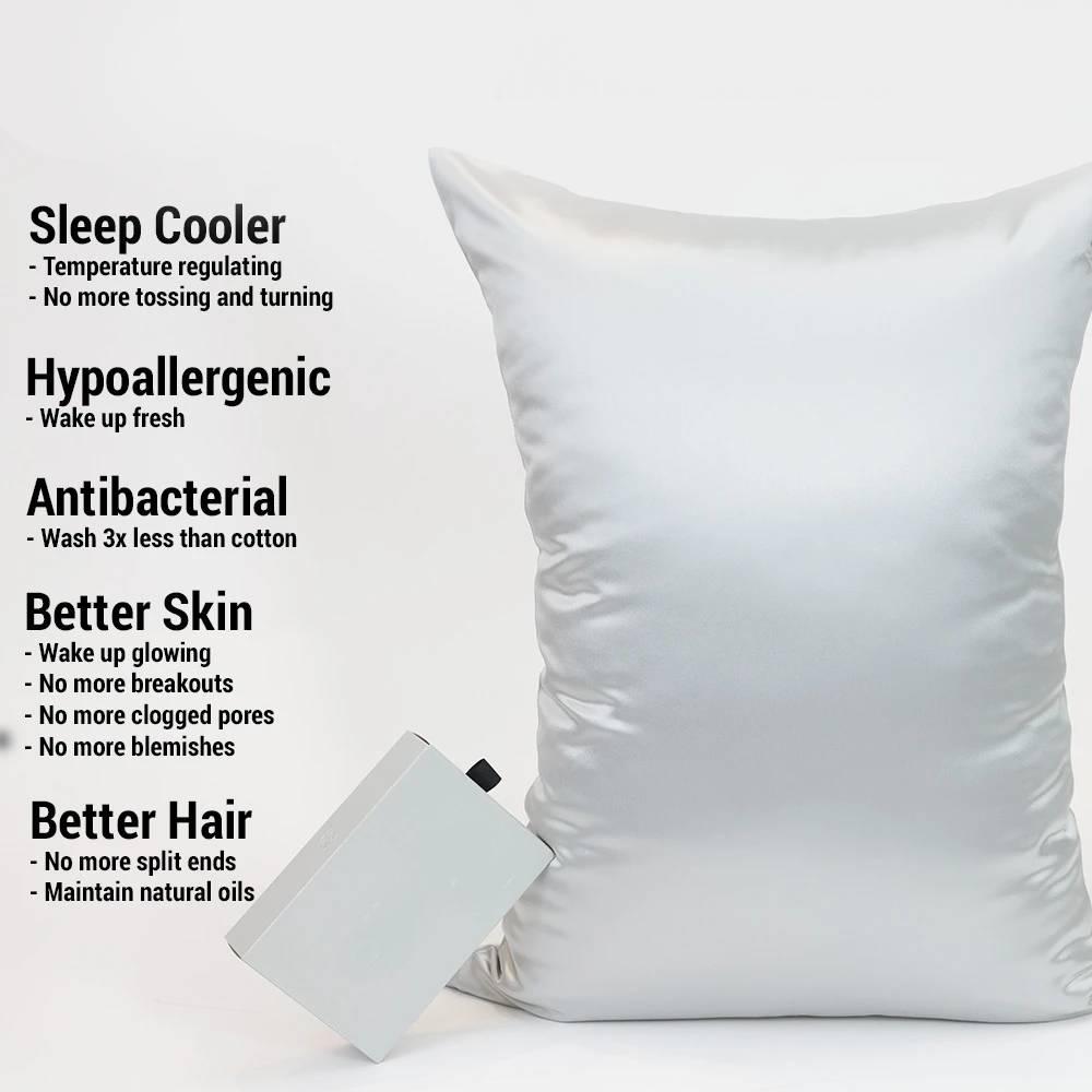 Silver Pillowcases
