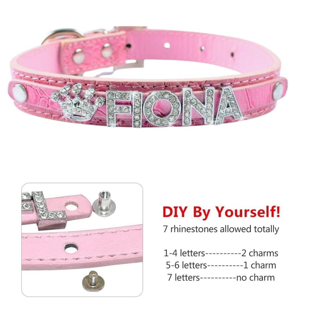 Pink Dog Collar UK