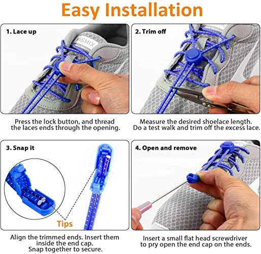 non tie laces for trainers