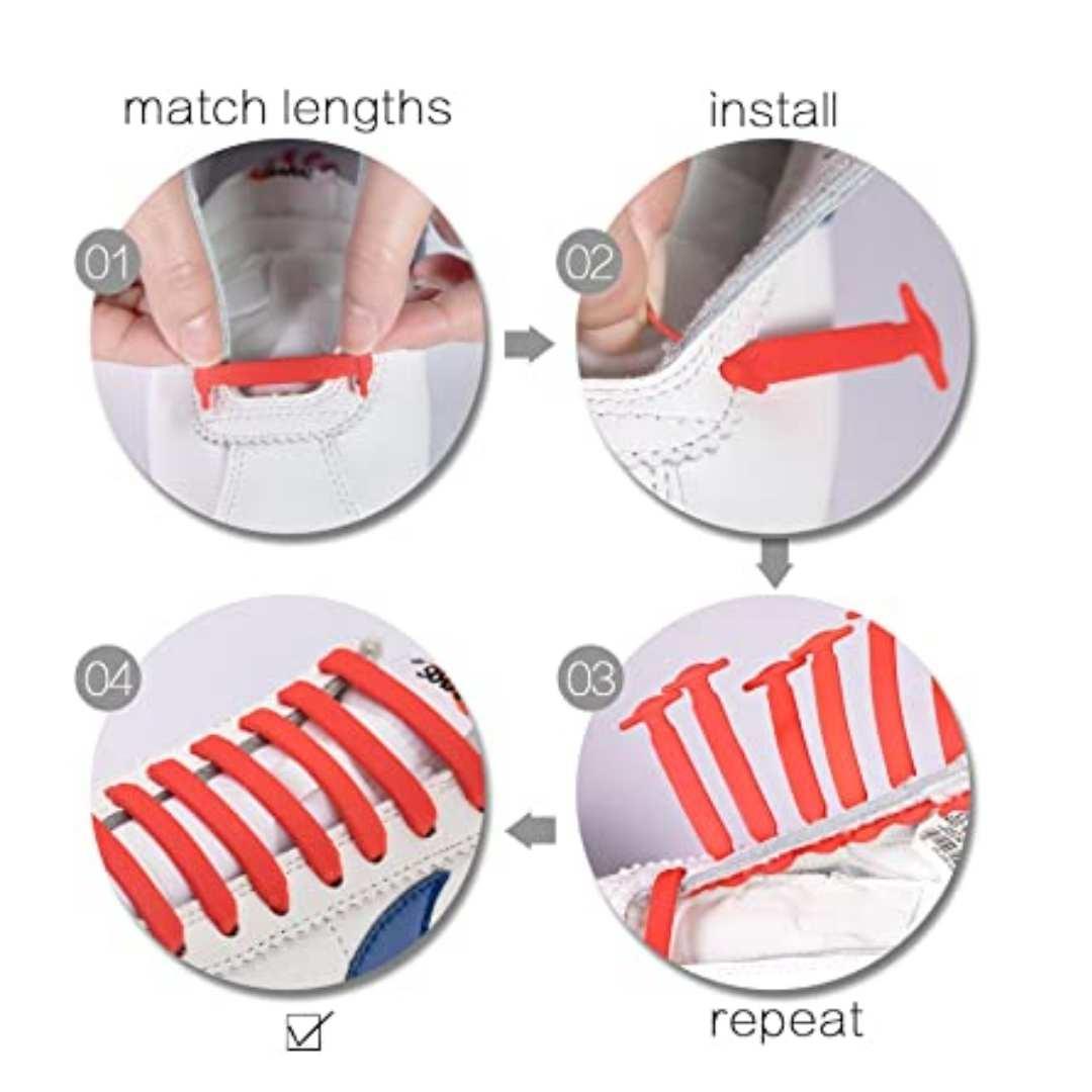 elastic shoelace
