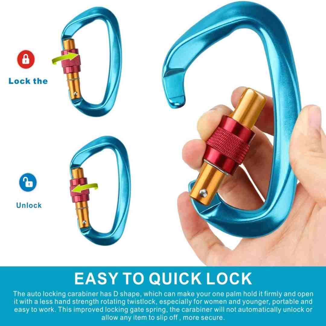 rock climbing clips
